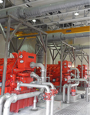 Heat Reduction of Water Pump Station
